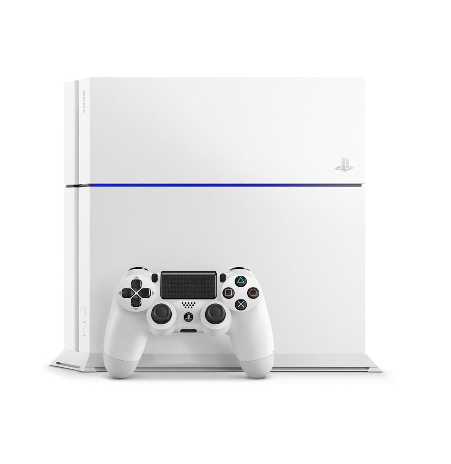 PlayStation4 グレイシャー・ホワイト(CUH1200AB02)画像