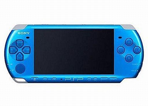 PSP(プレイステーションポータブル/ピーエスピー)バイブラント・ブルー(3000VB)など計6点
