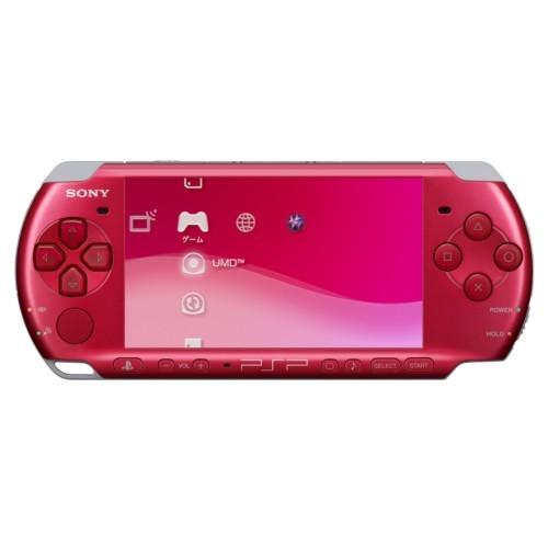 PSP(プレイステーションポータブル/ピーエスピー)3000系ラディアント・レッドなど計22点を