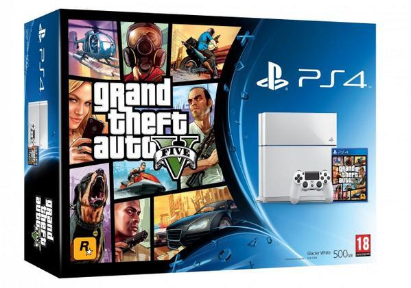 PS4(プレイステーション4/プレステ4)CUH-1000系Grand Theft Auto V Packなど計4点
