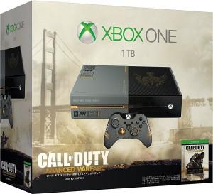 Xbox One 1TB (コール オブ デューティ アドバンスド・ウォーフェア リミテッド エディション)の画像