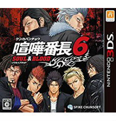 3DS 喧嘩番長6 SOUL&BLOOD 大の画像