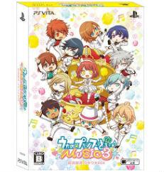 PS Vita うたの☆プリンスさまっ♪MUSIC3 初回限定 ウキウキBOX 大の画像