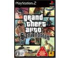 グランド・セフト・オート・サンアンドレアスなど計6点のPS2(プレイステーション2/プレステ2)ゲームソフトを