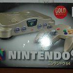 NINTENDO64 ゴールドバージョンの画像