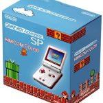 ファミコンカラー ゲームボーイアドバンスSPの画像