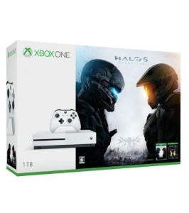 Xbox One S 1TB (Halo Collection 同梱版)の画像