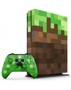 Xbox One S 1TB Minecraft リミテッド エディション 大の画像