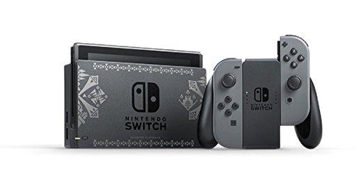 Nintendo Switch本体 モンスターハンターダブルクロスの画像