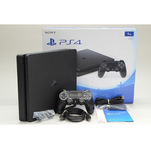 PlayStation4 CUH-2200BB01 ジェットブラック 1TBなど計3点を