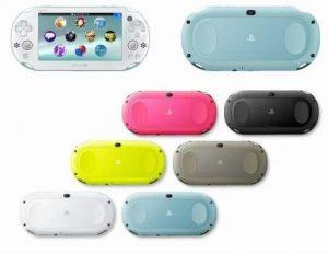 PS Vitaカラーバリエーション